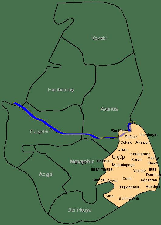 Harita Ürgüp