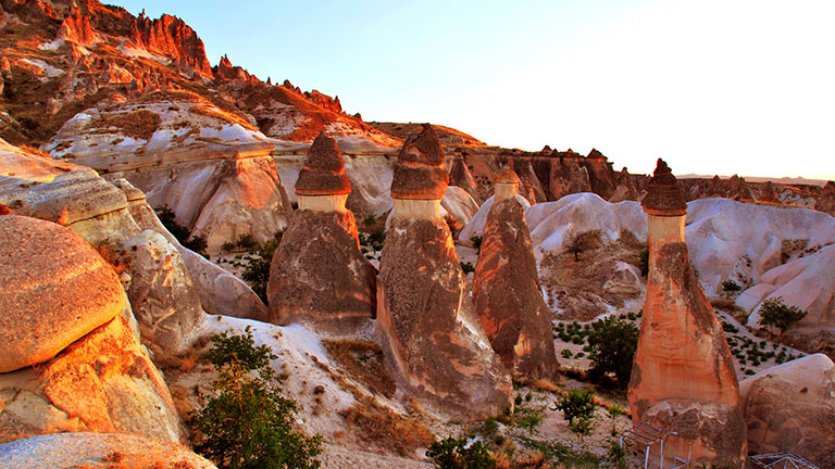 Kapadokya Turu Paşabağları Peri Bacaları
