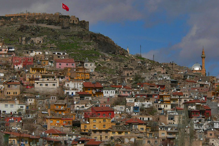 Nevşehir Kalesi Eski Hali